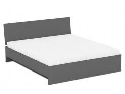 Manželská posteľ REA Oxana 180x200cm - graphite