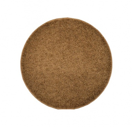 Koberec Color Shaggy - svetlo hnedá - kruh