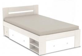 Študentská posteľ REA Larisa 120x200cm s nočným stolíkom - navarra