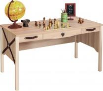 Veľký písací stôl Cavalos - akácie svetlá