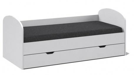 Posteľ s prístelkou REA Abra 90x200cm - biela