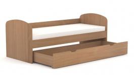 Detská posteľ so zásuvkou REA Kakuna 80x200cm - buk