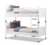 Poschodová posteľ Pure 90x200cm - biela