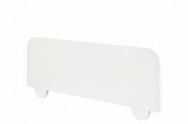 Zábrana na posteľ Pure - biela