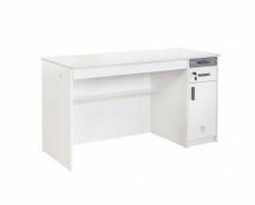 Veľký písací stôl Pure - biela