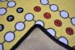 Detský hrací koberec Človeče nehnevaj sa