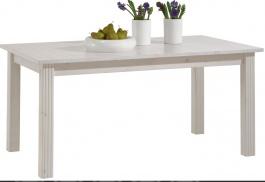 Jedálenský stôl s rozkladaním Monako - biela