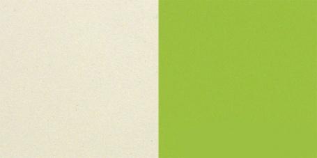 krémová/zelená
