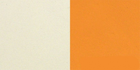 kremová/oranžová