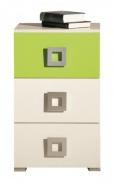 Komoda Relax 9 - výber farieb