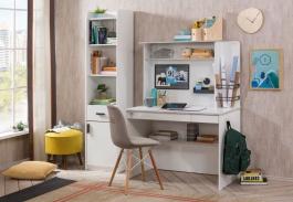 Malá kancelária Pure - biela