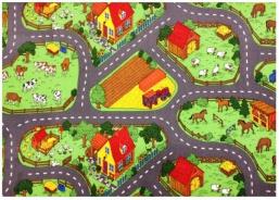 Detský hrací koberec Farma 2