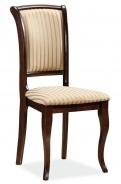 Jedálenská čalúnená stolička MN-SC orech / T19