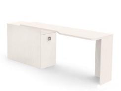 Písací stôl REA Teeny s kontajnerom L/P - navarra