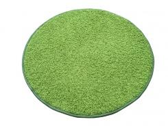 Koberec Color Shaggy - zelené jablko - kruh