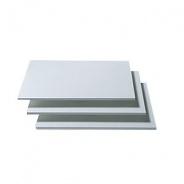 Doplnkové police k šatníkovým skriniam I (3ks) - biela