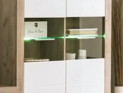 LED osvetlenie k preskleným policiam