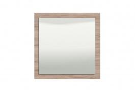 Nástenné zrkadlo Shine - dub sivý