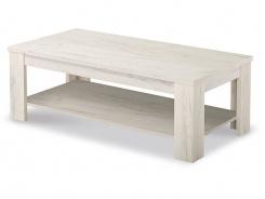 Konferenčný stolík Frankie - dub biely