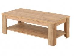 Konferenčný stolík Frankie - dub zlatý