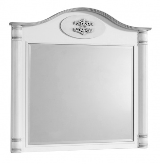 Zrkadlo ku komode Carmen - biela