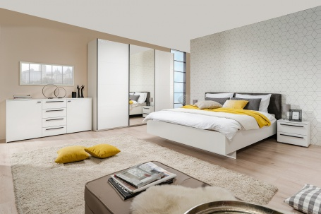 Moderná spálňa Aubrey I - biela