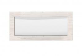 Nástenné zrkadlo Henry - dub biely
