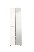 Predsieňová skriňa so zrkadlom Falka - biela