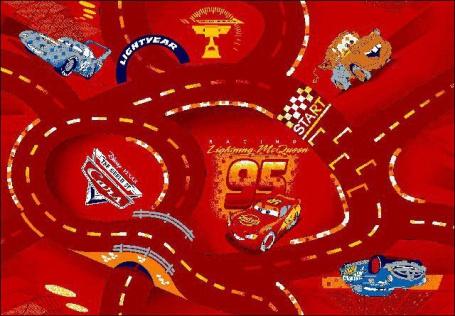 Detský koberec The World of Cars 10