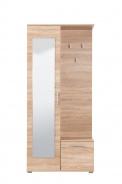 Predsieňová stena so zrkadlom Galina - dub sonoma