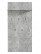 Vešiakový panel Beatrix - betón