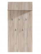 Vešiakový panel Beatrix - dub šedý
