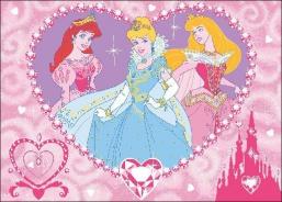 Detský koberec Princesses Jewels
