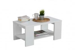 Konferenčný stolík 90x50cm Kimora - biela