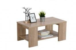 Konferenčný stolík 90x50cm Kimora - dub sonoma