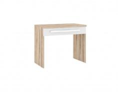 Toaletný stolík Xenie - dub desira ask/biela