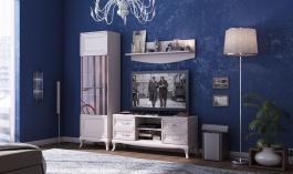 Malá obývacia zostava Claudia - krémová