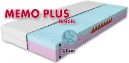 Zdravotné matrace MEMO PLUS Tencel - ortopedická