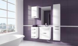 Kúpeľňová zostava CORAL biela