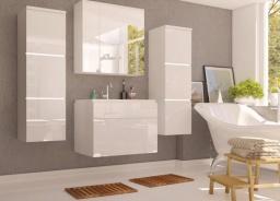 Kúpeľňová zostava PORTO biela lesk