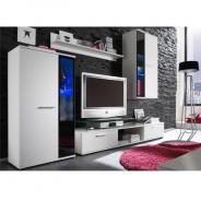 Obývacia stena, biela, SALESA