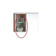 Dvojbodové LED osvetlenie k obývacej stene VALERIA.