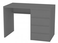 Písací stôl REA Play 2, pravý - graphite
