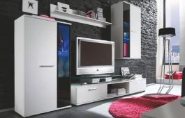 Obývacia stena SALSA biela mat