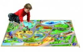 Detský koberec 3D ultra soft ZOO - Detský koberec 3D ultra soft ZOO - 130x180cm