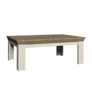 Konferenčný stolík, sosna škandinávska / dub divoký, ROYAL LN2