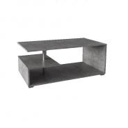Konferenčný stolík na kolieskach, betón, DORISA