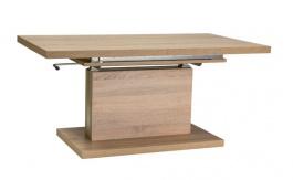 Jedálenský / konferenčný stôl AMBER rozkladací - dub sonoma