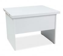 Jedálenský / konferenčný stôl COSTA B rozkladací - biela