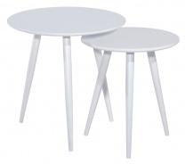 Konferenčné stolíky CLEO biely